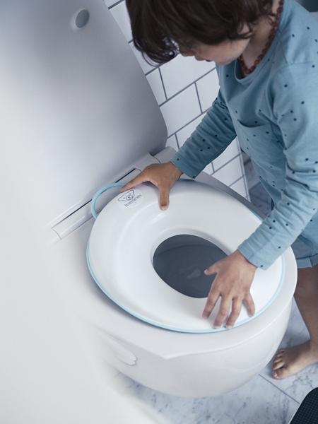 BabyBjorn κάθισμα τουαλέτας White - Turquoise