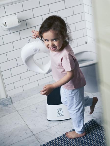 BabyBjorn κάθισμα τουαλέτας White - Grey