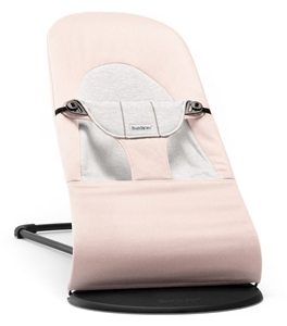 BabyBjorn Ρηλάξ Balance Soft Cotton Jersey, Light Pink Grey