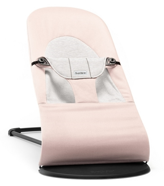 BabyBjorn Ρηλάξ Balance Soft Cotton Jersey, Light Pink Grey