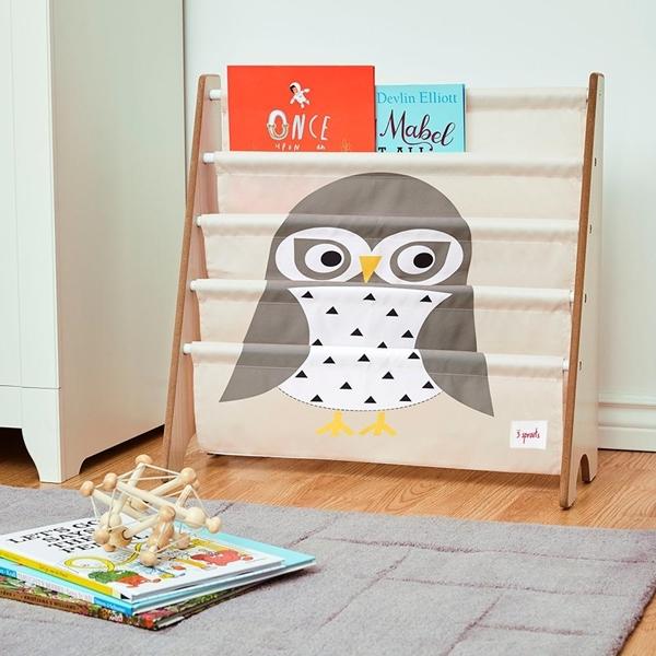 3 sprouts Θήκες Για Βιβλία Owl