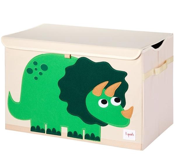 3 sprouts Καλάθι Για Παιχνίδια Με Καπάκι - Dino
