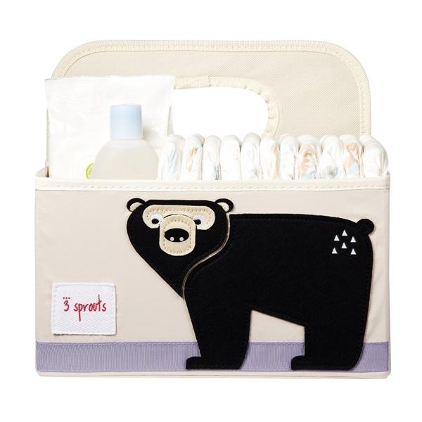 3 sprouts Τσάντα-Θήκη Για Πάνες, Bear