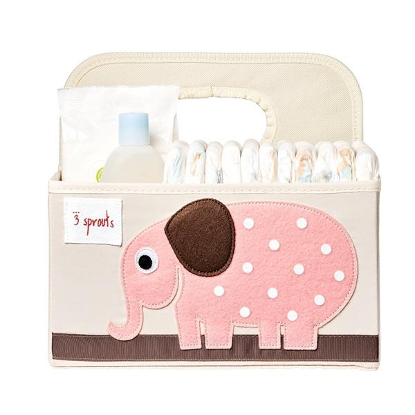 3 sprouts Τσάντα-Θήκη Για Πάνες, Elephant