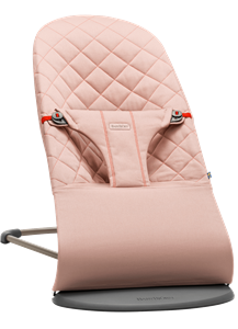 BabyBjorn Ρηλάξ Balance Bliss Cotton, Old Rose