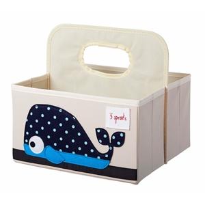 3 sprouts Τσάντα-Θήκη Για Πάνες, Whale