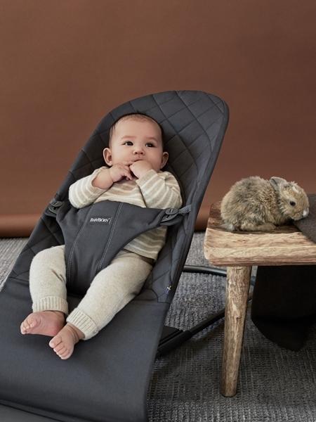 BabyBjorn Ρηλάξ Balance Bliss Cotton, Anthracite