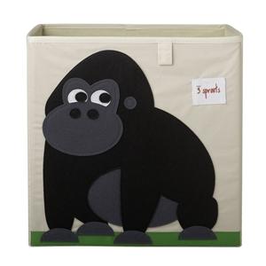 3 sprouts Καλάθι Για Παιχνίδια Τετράγωνο - Gorilla