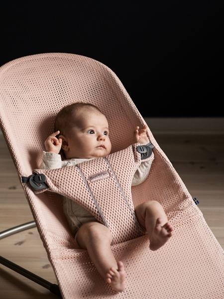 BabyBjorn Ρηλάξ Balance Bliss Mesh, Pearly Pink