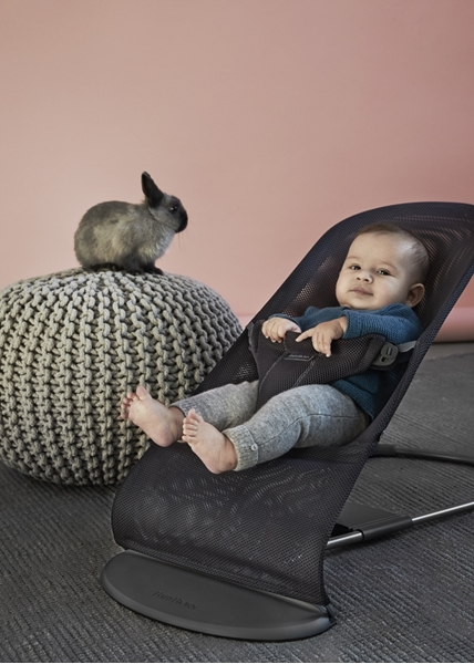 BabyBjorn Ρηλάξ Balance Bliss Mesh, Antracite