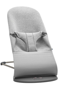 BabyBjorn Ρηλάξ Balance Bliss 3D Jersey, Light Grey