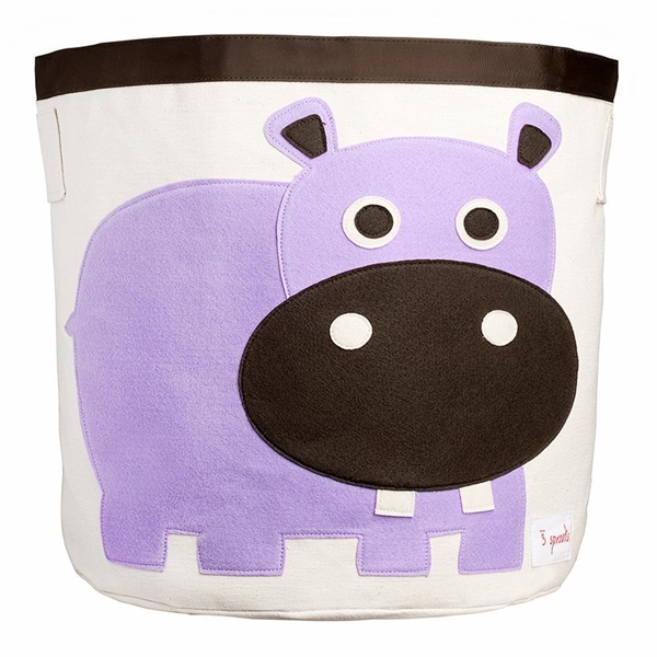 3 sprouts Καλάθι Για Παιχνίδια - Hippo