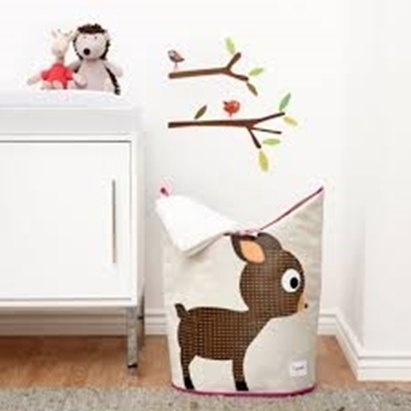 3 sprouts Καλάθι Για Τα Άπλυτα - Deer