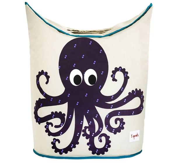 3 sprouts Καλάθι Για Τα Άπλυτα - Octopus