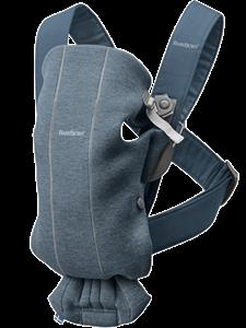 BabyBjorn μάρσιπος Mini 3D Jersey, Dove Blue