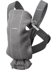 BabyBjorn μάρσιπος Mini 3D Jersey, Dark Grey