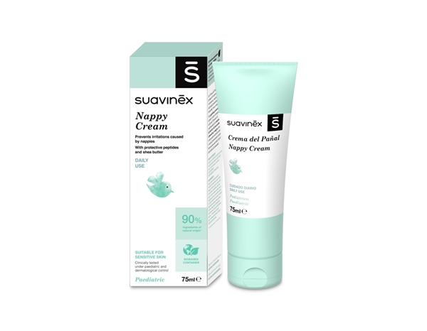 Suavinex Κρέμα αλλαγής πάνας Nappy Cream, 75ml
