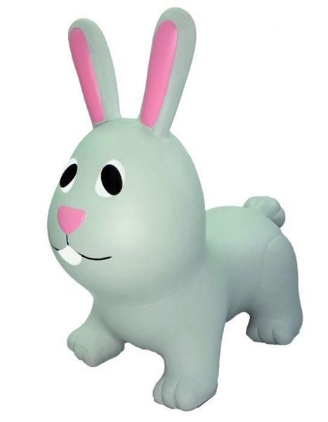 Gerardo's Toys Φουσκωτό Χοπ Χοπ, Grey Bunny