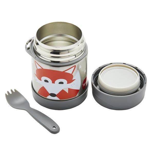3 Sprouts Ανοξείδωτο Δοχείο Φαγητού - Fox