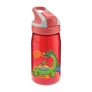 Laken Παγούρι με Καλαμάκι Tritan 450ml, Dragon