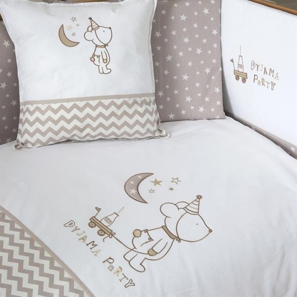 FunnaBaby Σετ προίκας μωρού 6τμχ, Pyjama Μπεζ