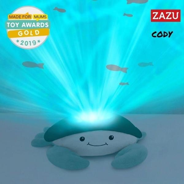 Zazu Cody Κάβουρας Προτζέκτορας Νανουρίσματος με Λευκούς Ήχους