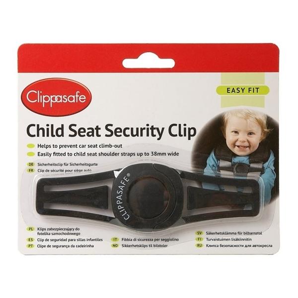Clippasafe Anti-Escape Clip Ζωνών Αυτοκινήτου