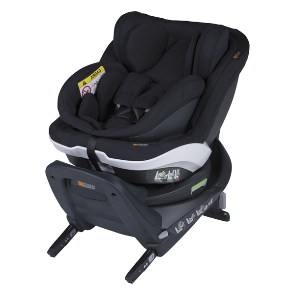 BeSafe Παιδικό Κάθισμα Αυτοκινήτου iZi Twist B i-Size 0-18kg, Fresh Black Cab
