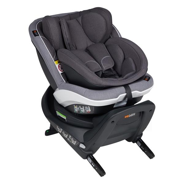 BeSafe Παιδικό Κάθισμα Αυτοκινήτου iZi Twist B i-Size 0-18kg, Metallic Melange