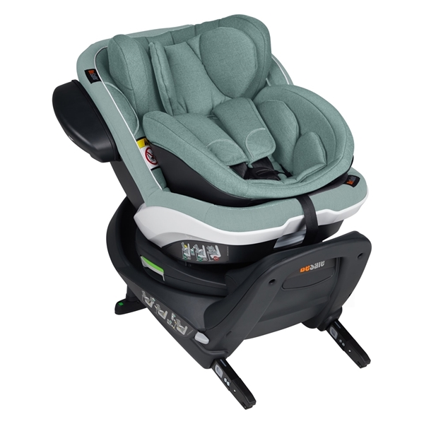 BeSafe Παιδικό Κάθισμα Αυτοκινήτου iZi Twist B i-Size 0-18kg, Sea Green Melange