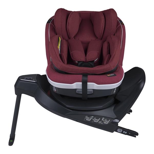 BeSafe Παιδικό Κάθισμα Αυτοκινήτου iZi Twist B i-Size 0-18kg, Burgundy Melange