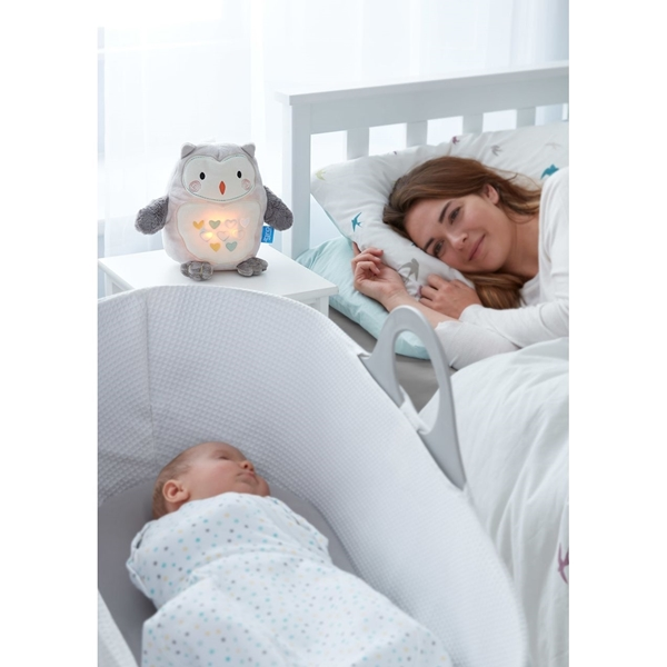Gro company Ollie η κουκουβάγια, η τέλεια σύντροφος για τον ύπνο! Επαναφορτιζόμενη με USB