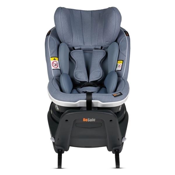 BeSafe Παιδικό Κάθισμα Αυτοκινήτου iZi Turn i-Size 0-18kg, Cloud Melange