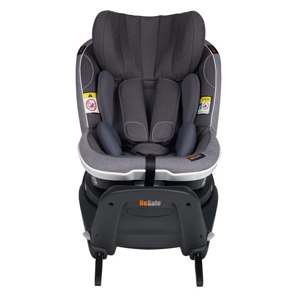 BeSafe Παιδικό Κάθισμα Αυτοκινήτου iZi Turn i-Size 0-18kg, Metallic Melange