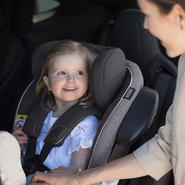 BeSafe Παιδικό Κάθισμα Αυτοκινήτου iZi Turn i-Size 0-18kg, Sea Green Melange