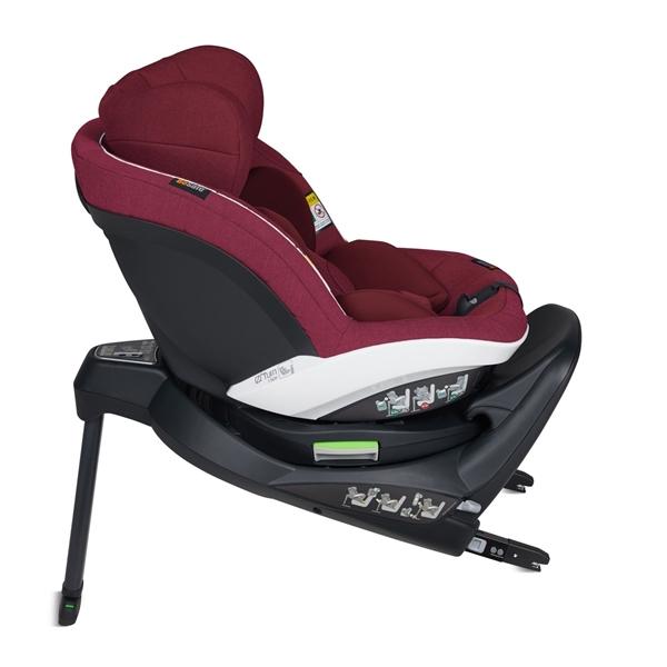 BeSafe Παιδικό Κάθισμα Αυτοκινήτου iZi Turn i-Size 0-18kg, Burgundy Melange
