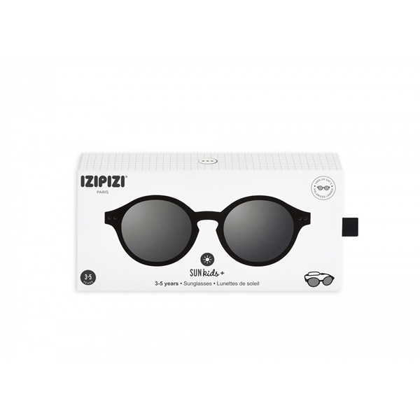 IZIPIZI Γυαλιά Ηλίου Sun Kids Plus 3-5 Ετών Black