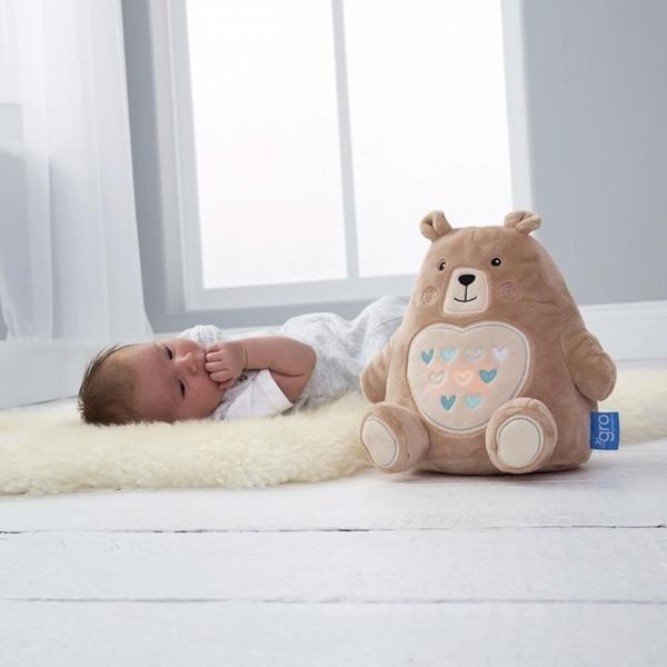 Gro company Bennie ο Αρκούδος, ο τέλειος σύντροφος για τον ύπνο! Επαναφορτιζομενος με USB