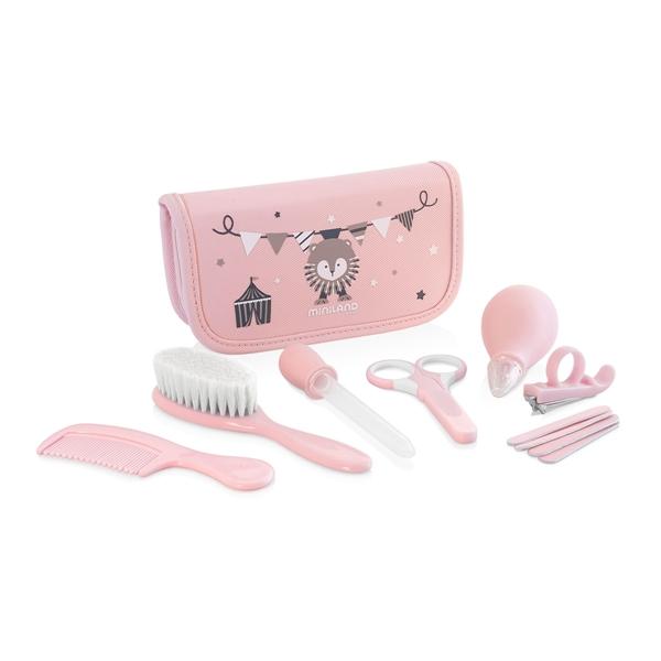 Miniland Σετ Περιποίησης  Baby Kit Pink