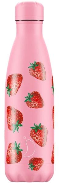 Chillys Θερμός Για Υγρά Strawberry 500ml.