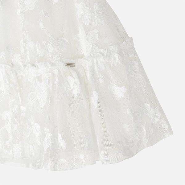 Mayoral Φόρεμα Τούλι Κεντητό Κορίτσι