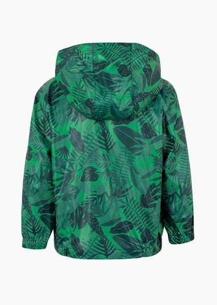 Losan Green Tropical Print Jacket Αγόρι, Πράσινο