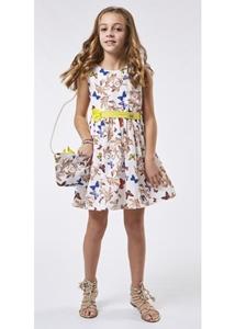 Εβίτα Fashion Φόρεμα Με Τσάντα