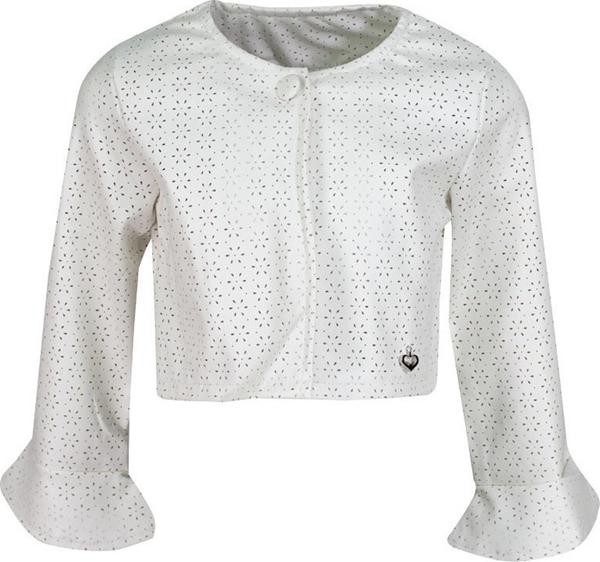 Εβίτα Fashion Δερματίνη Σακάκι Κοντό Λευκό