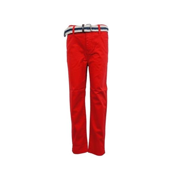 Hashtag Παιδικό Παντελόνι Με Ζώνη Κόκκινο