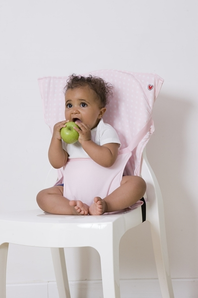 Baby To Love Pocket Chair - Ροζ Αστέρια