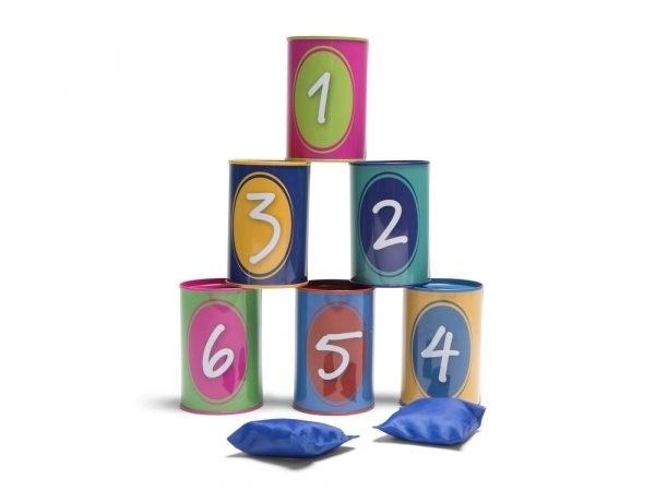 BS Toys – Tin Throwing – Τενεκεδάκια Ζωάκια