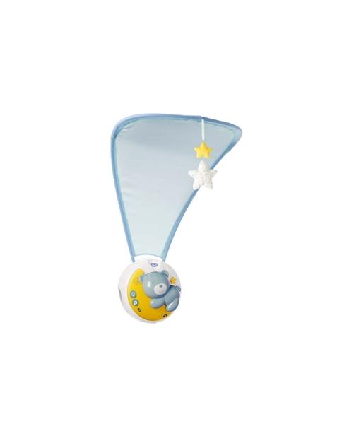 """Chicco Βρεφικό Παιχνίδι Κούνιας """"Κοντά Στο Φεγγάρι"""" Σιέλ"""