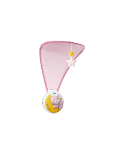 "Chicco Βρεφικό Παιχνίδι Κούνιας ""Κοντά Στο Φεγγάρι"" Ροζ"