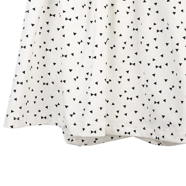 Καρφιτσωμένος Γάτος - Βρεφικό Φόρεμα με Ενσωματωμένο Κορμάκι & Γεωμετρικά Τρίγωνα